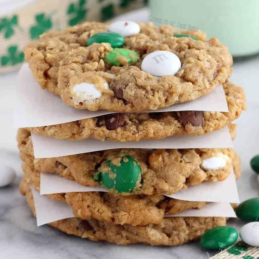 Monster Leprechaun Cookies Recipe Square