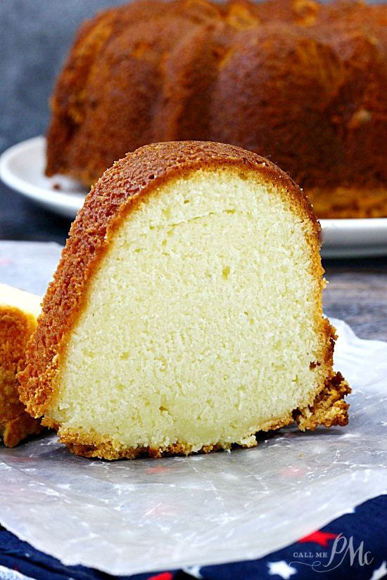 Lemon Cream Cheese Pound Cake Recipe is tender and moist. It's sweet and simple with a buttery flavoring that melts in your mouth!