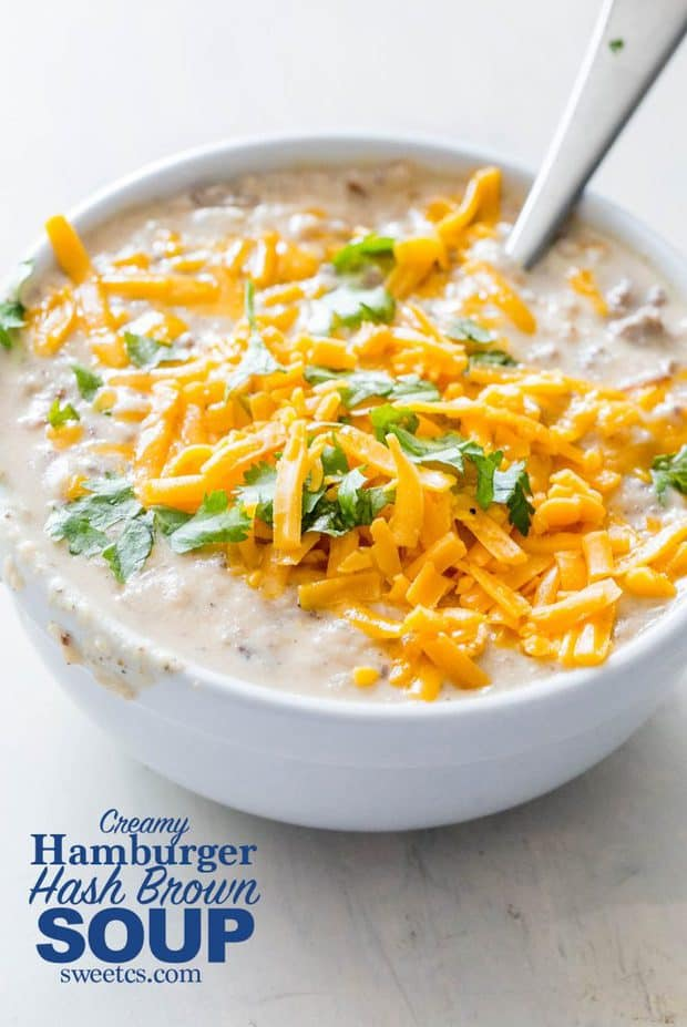 I love creamy, easy dutch oven soups in winter that are full of flavor – and this soup is the perfect dinner for an easy meal that cooks in just a couple hours with almost no work!