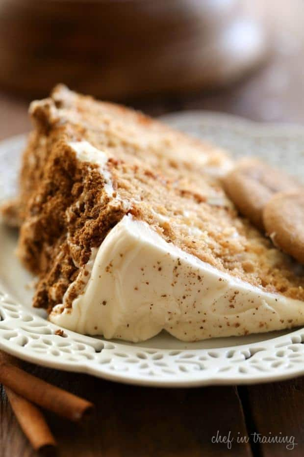 If you love spice cakes, then you definitely need to try this delicious spin. It is packed with flavor and is so moist an yummy! It is sure to be a hit!