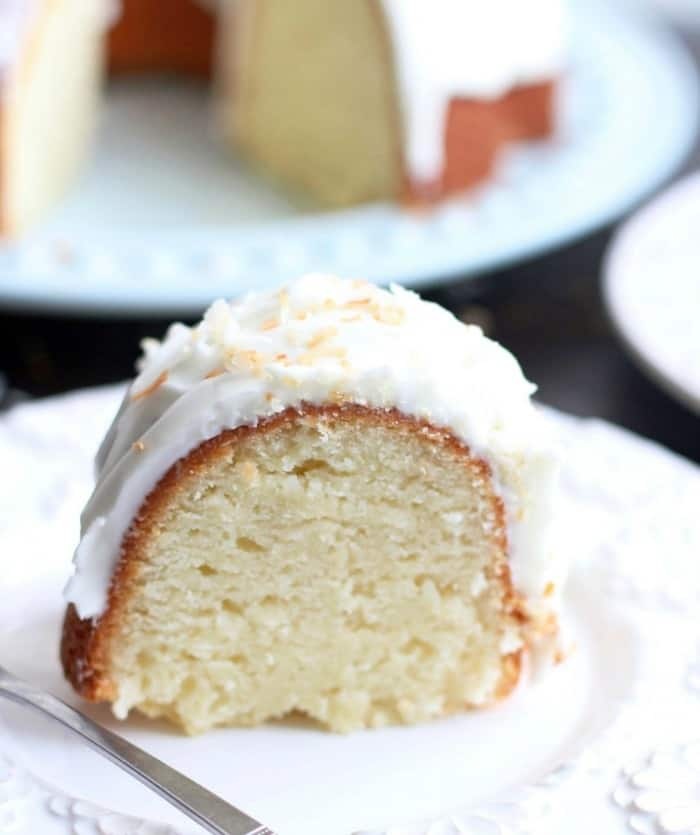 COCONUT BUNDT CAKE--31+ COCONUT DESSERTS THAT WILL SATISFY YOUR SWEET TOOTH!