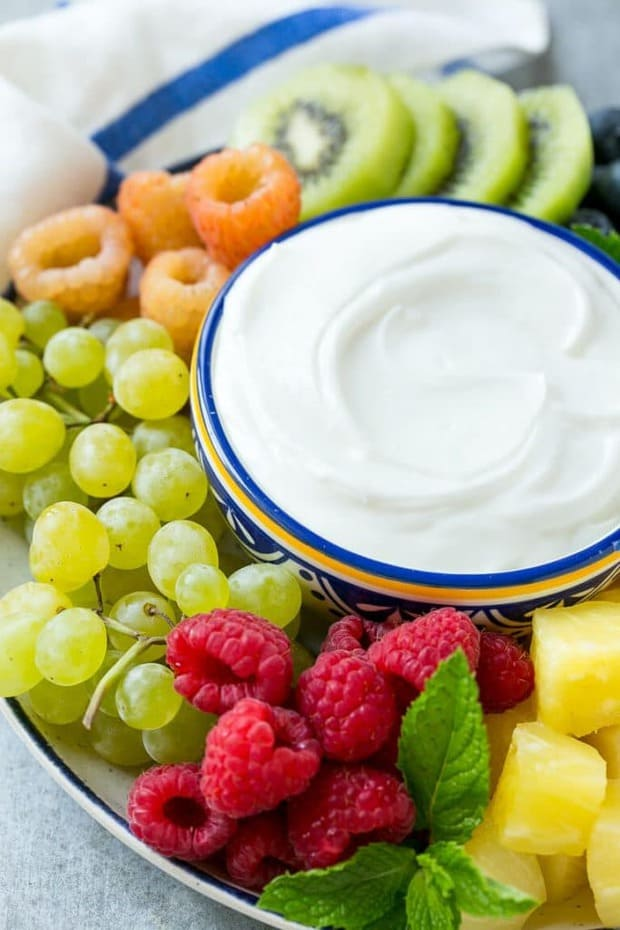 Cream Cheese Fruit Dip -- Part of The Best Cream Cheese Dip Recipes