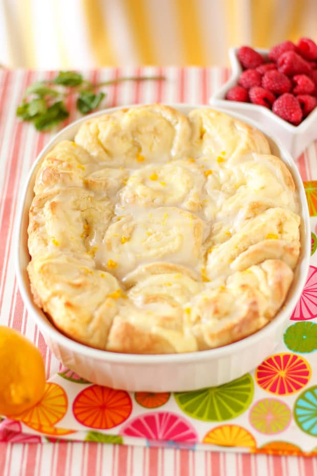 Lemon Cheesecake Morning Buns -- Part of The Best Breakfast Sweet Rolls Recipes