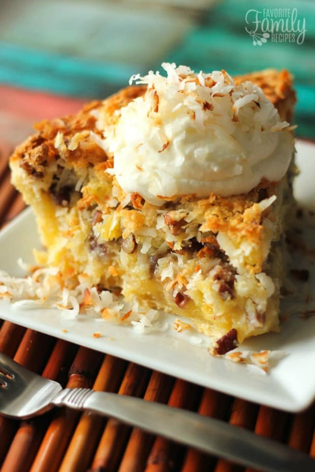 ISLAND PECAN PIE--31+ COCONUT DESSERTS THAT WILL SATISFY YOUR SWEET TOOTH!