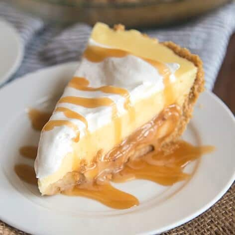 Caramel Banana Cream Pie The Best Blog Recipes