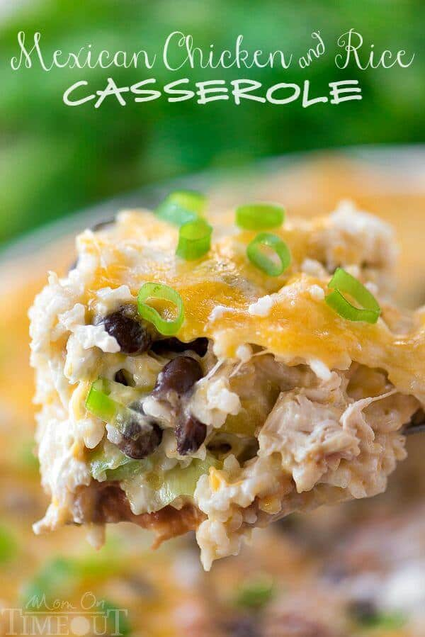 Easy mexican chicken and rice casserole the best blog recipes easy mexican chicken and rice casserole forumfinder Image collections