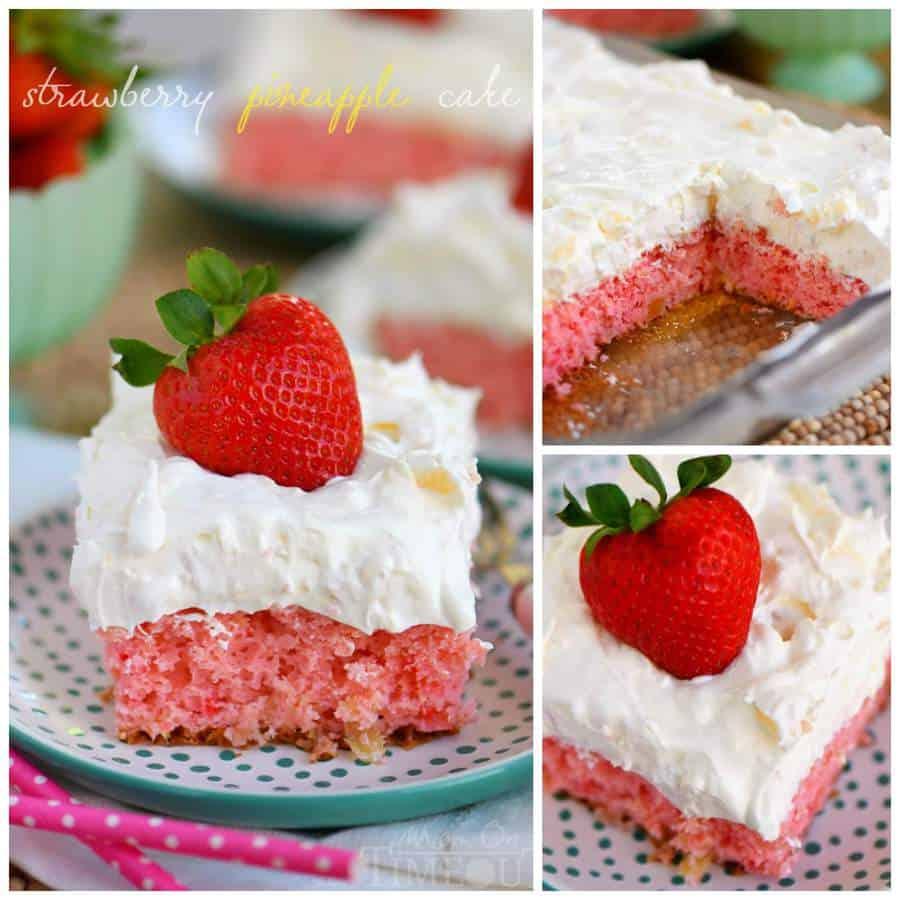 Easy Strawberry Pineapple Cake