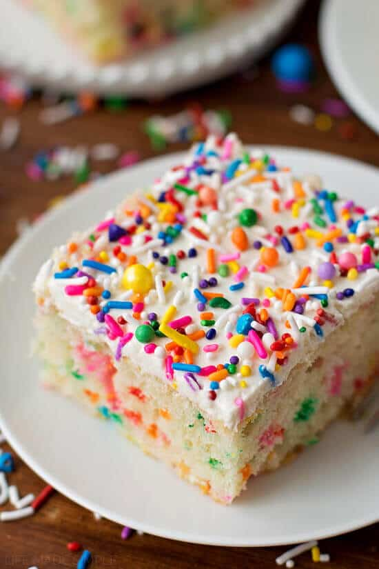 Homemade Funfetti Cake - The Best Blog Recipes