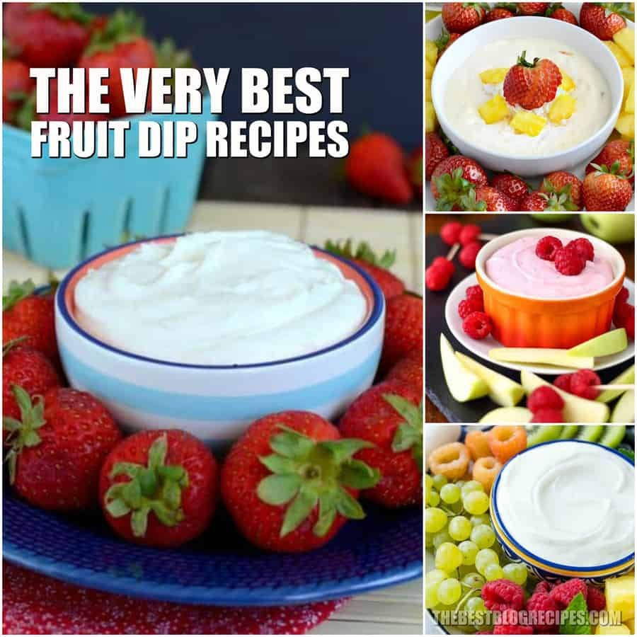 The Best Fruit Dip Recipes