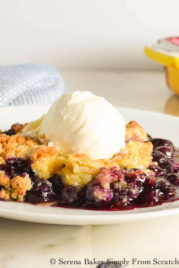 Blueberry Cobbler The Best Blog Recipes
