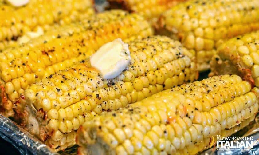 The Best Ever Oven Roasted Corn