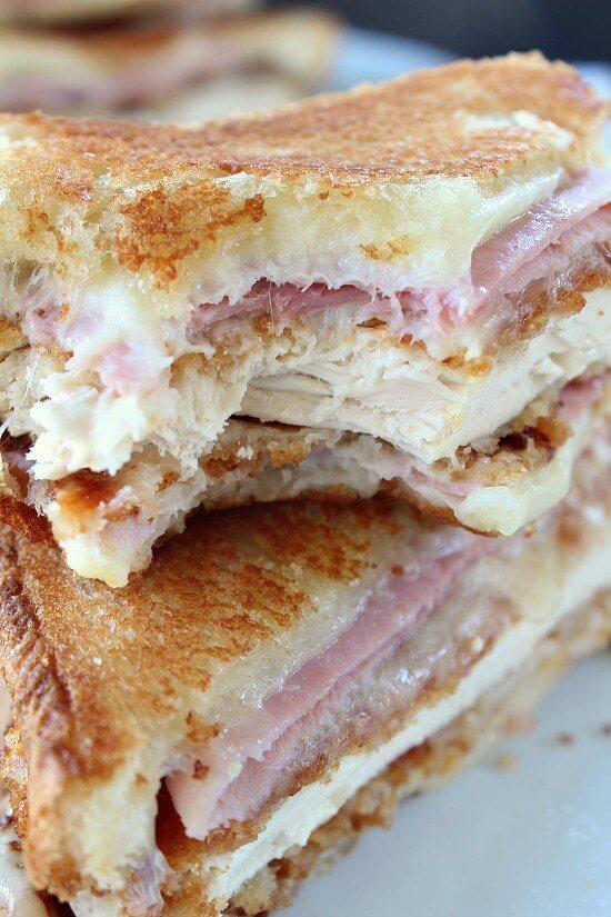 Chicken Cordon Bleu Grilled Cheese Sandwich The Best Blog Recipes