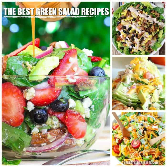 THE BEST GREEN SALAD RECIPES