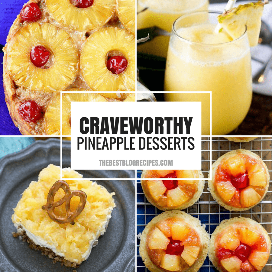 PINEAPPLE RECIPES FOR YOUR SWEET SUMMERTIME CRAVINGS May 24, 2016 by Shauna Smart Leave a Comment (Edit) Pin Share Tweet Email SHARES 127.1K Even when the weather is cold, you need Pineapple Recipes for your Sweet Summertime Cravings! Tropical pineapple flavor is a hit for any occasion no matter the season!