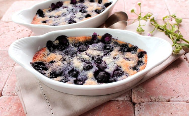 Blueberry Cake for Two -- Part of The Best Blueberry Recipes
