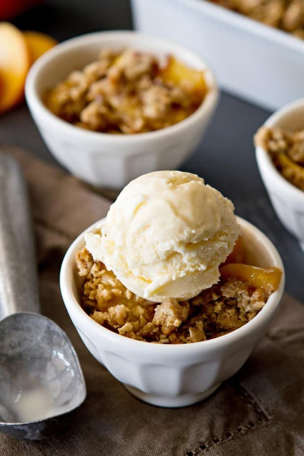 Peach Crisp is one of the tastiest desserts known to man. Your friends and family will love this recipe!