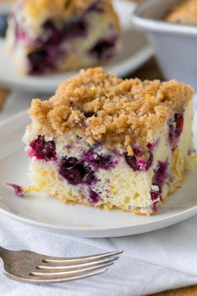 Blueberry Buckle -- Part of The Best Blueberry Recipes
