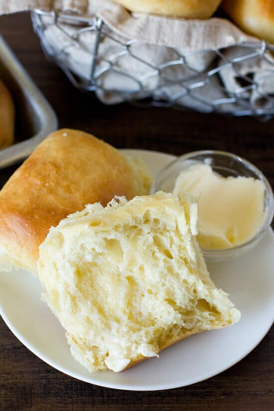 Warm buttery dinner rolls are our thing! Are they yours too? There is just something about a fresh roll — the smell, the taste, yeah — we love everything about them. That's why we're excited that we found these 1 Hour Soft and Fluffy Dinner Rolls over at Life Made Simple. Seriously, you only need 60 minutes start to finish for this recipe and then they're done! We know — whoo hoo! Now go on and get your roll on.