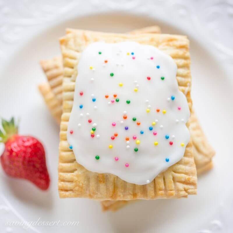 Homemade Strawberry Poptarts - The Best Blog Recipes