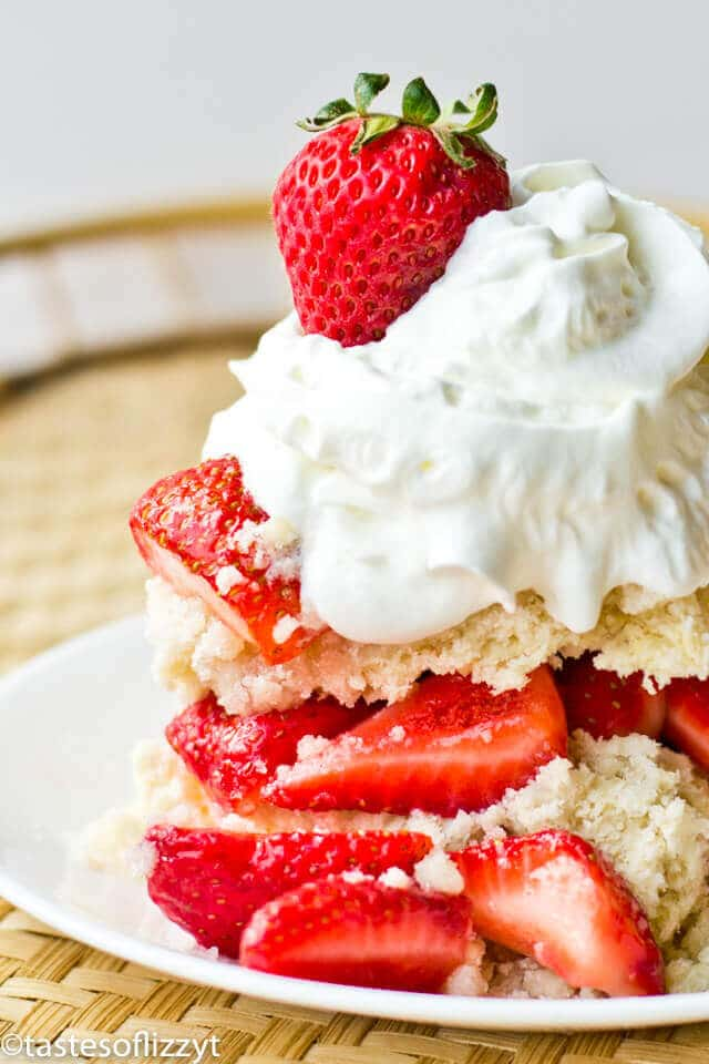 Amish Strawberry Shortcake-- Part of The Best Strawberry Recipes