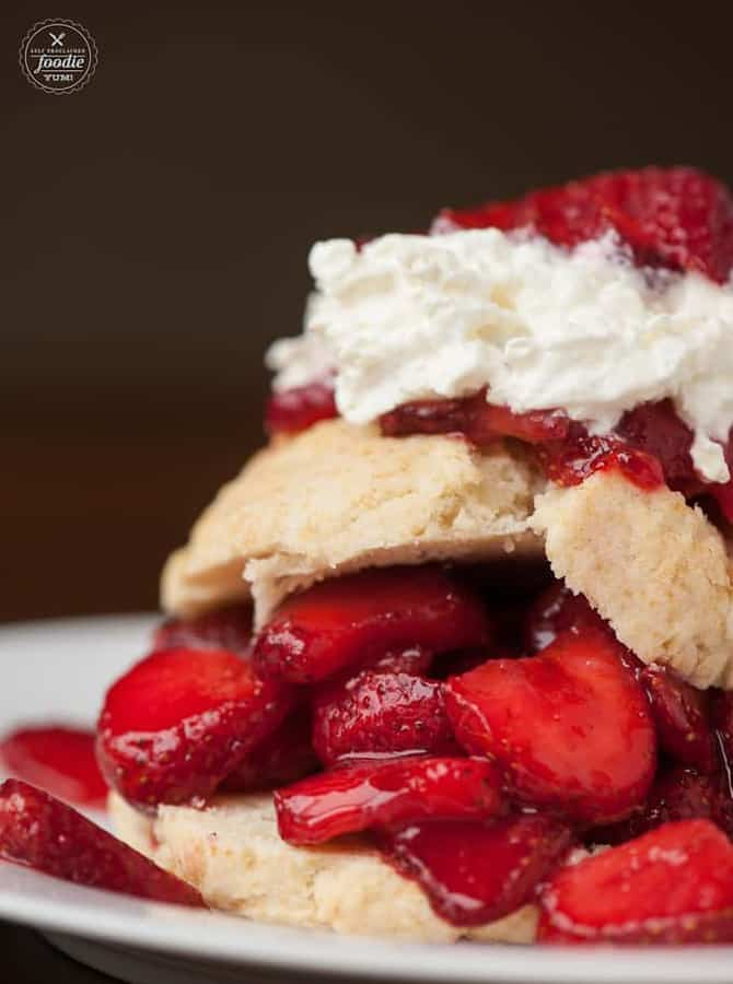 Classic Strawberry Shortcake-- Part of The Best Strawberry Recipes