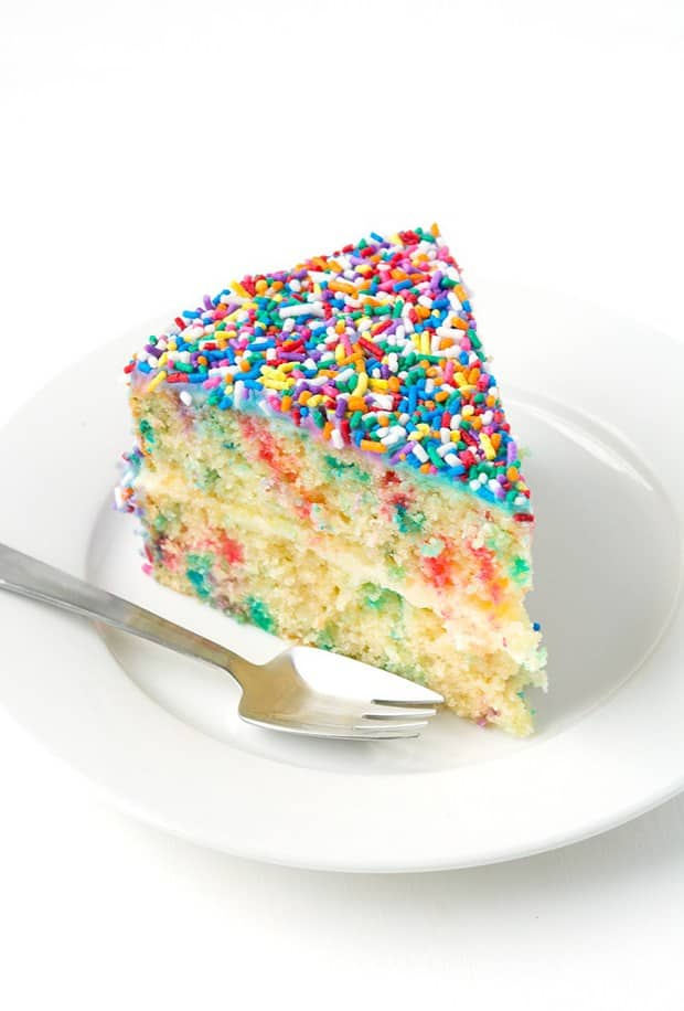 Easy Funfetti Layer Cake