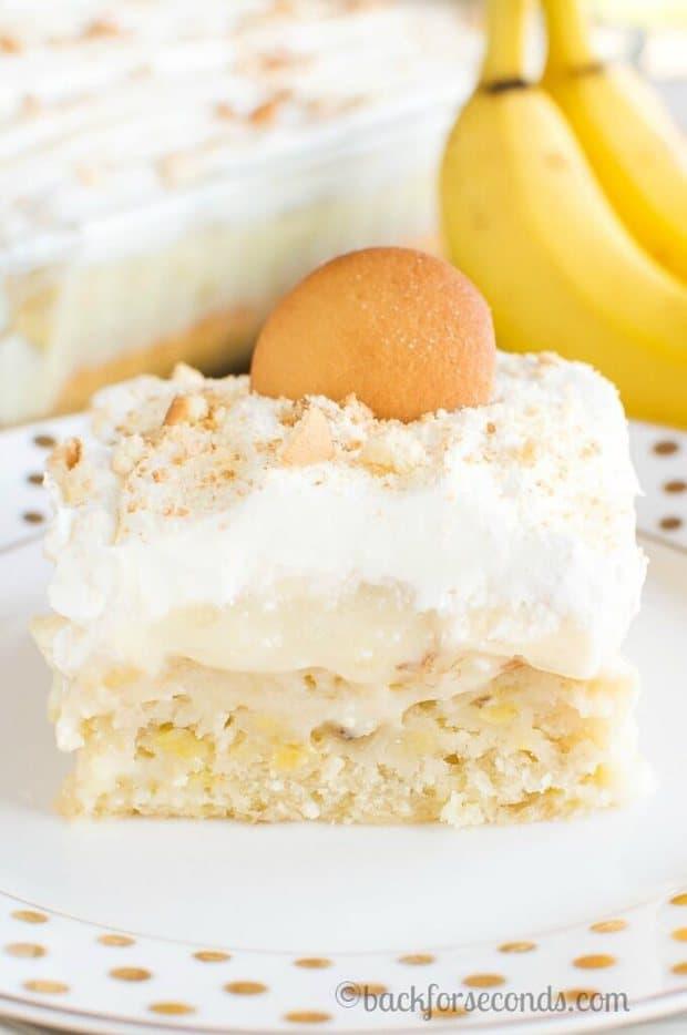 Banana Cream Pie Poke Cake The Best Blog Recipes