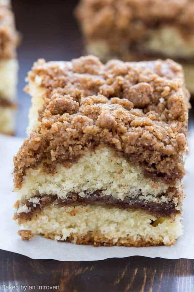 Easy Cinnamon Crumb Coffee Cake Recipe
