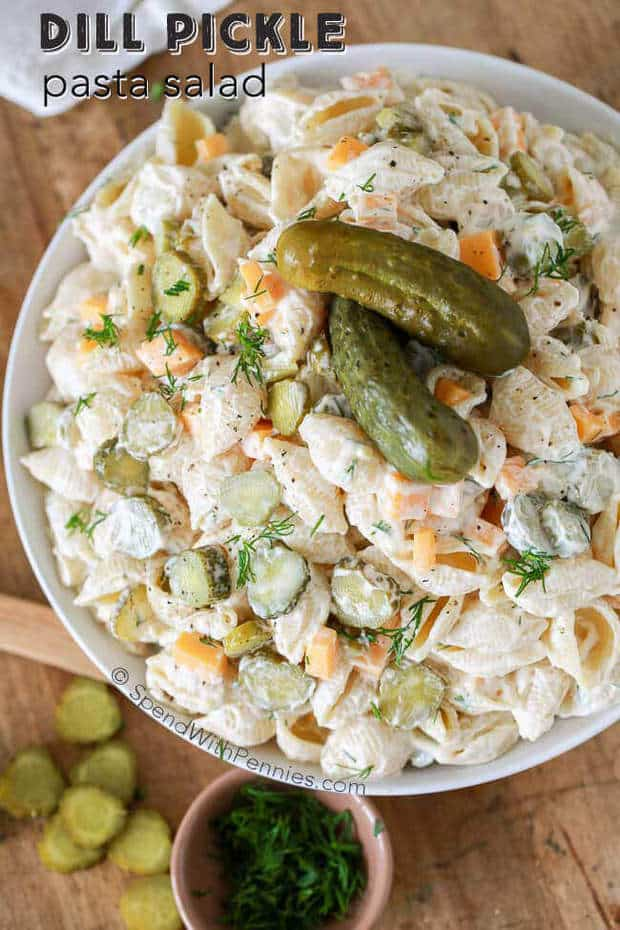 Dill Pickle Pasta Salad The Best Blog Recipes