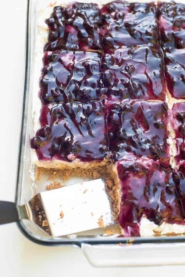 Easy Blueberry Cake Filling