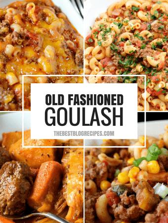 Old Fashioned Goulash just like grandma made
