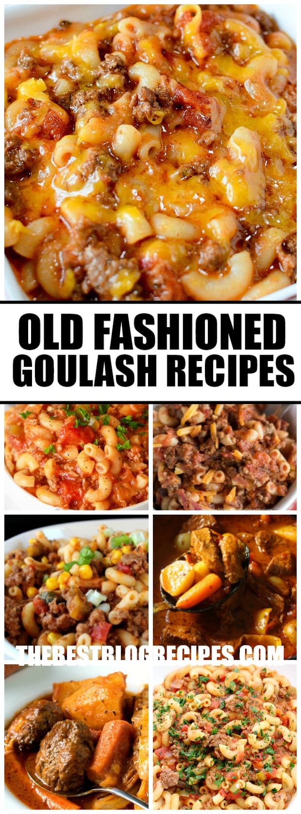 Old Fashioned Goulash Recipes