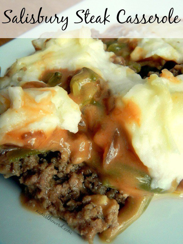 S If you love Salisbury Steak, then give this simple 30 minute Salisbury Steak Casserole a chance.  Easy, delicious and perfect weeknight meal!  This also reheats and freezes well!