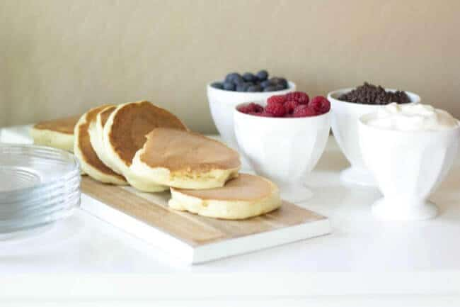 Easy Pancake Bar