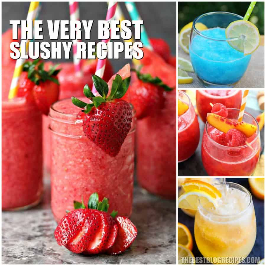 The Best Slushy Recipes