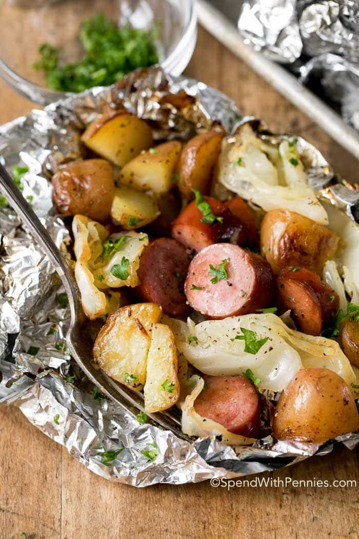 Cabbage and sausage are two ingredients that were definitely meant to be enjoyed together!