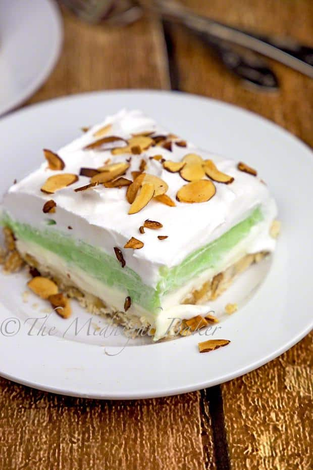 Pistachio Lush is about to become your new favorite dessert!