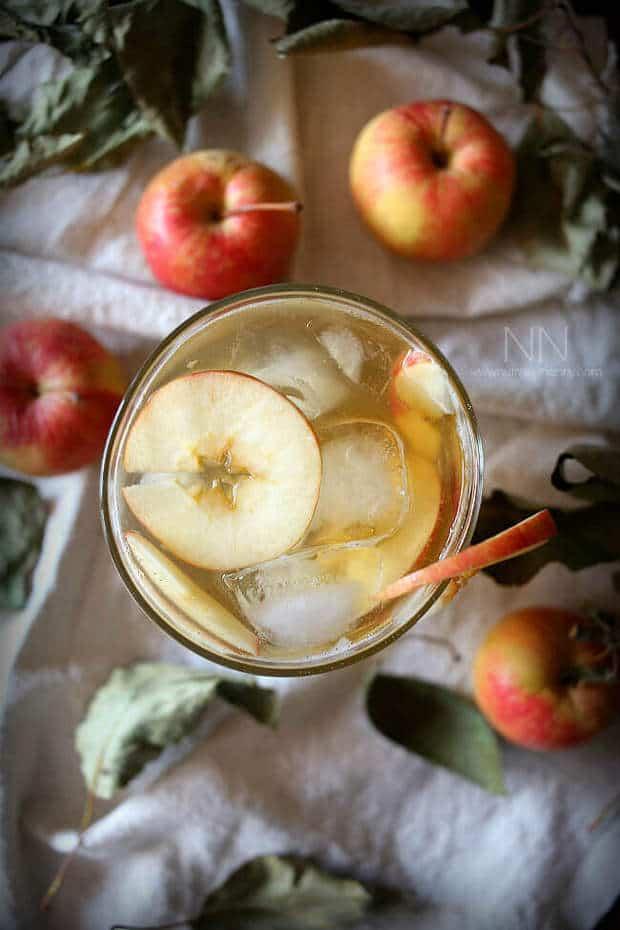 1 Bourbon Apple Shrub Cocktail