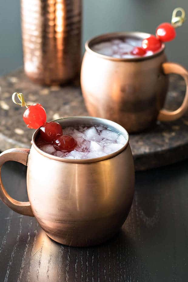 15 Very Cherry Moscow Mule