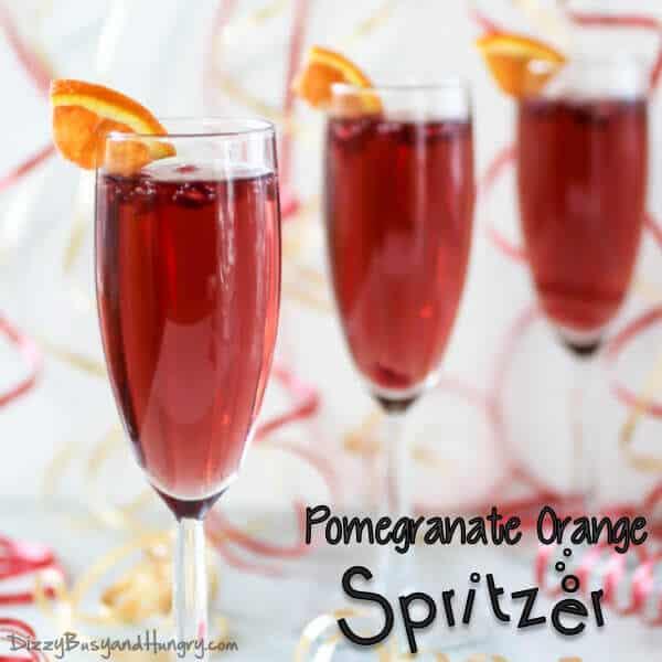 20 Pomegranate Orange Spritzer