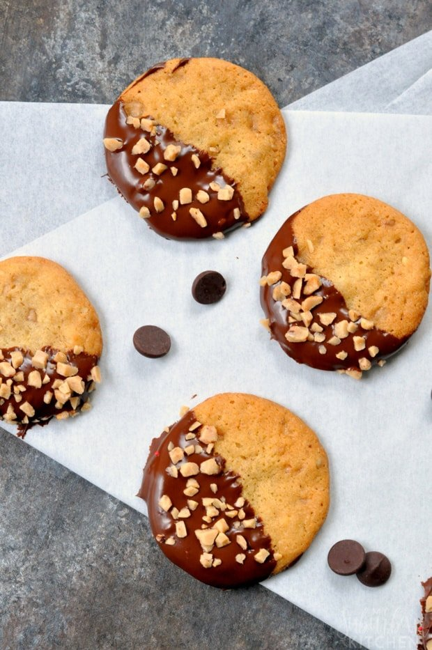Double Chocolate Toasted Walnut Cookie Recipe