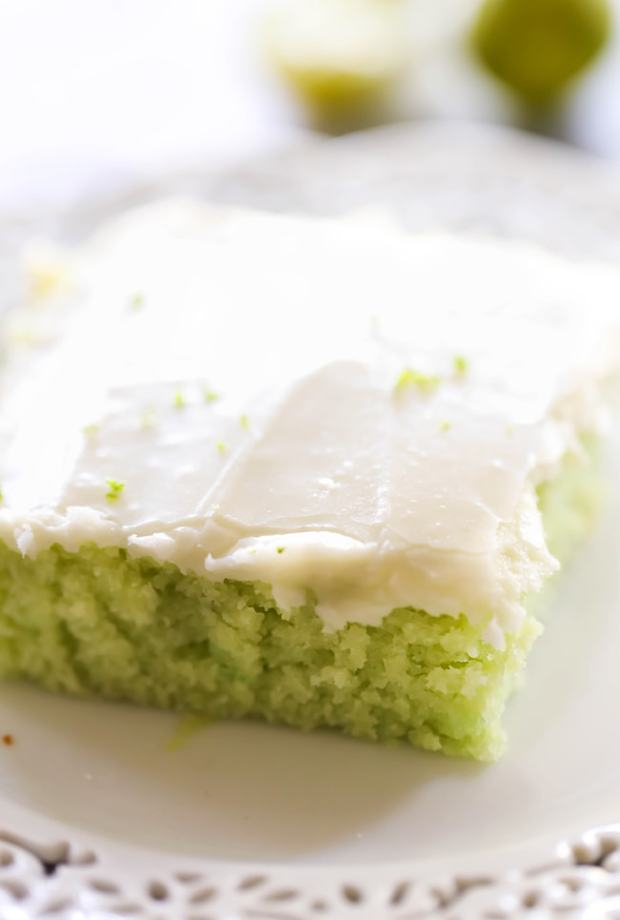 Key Lime Sheet Cake -- Part of The Very Best Sheet Cake