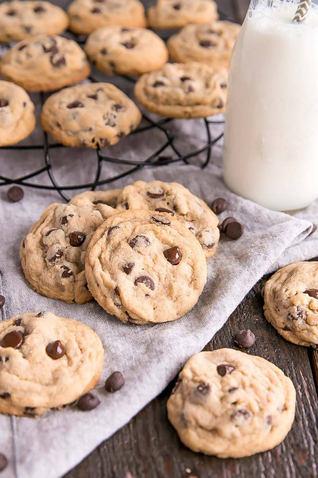 Enhance classic chocolate chip cookies with the nutty flavour of brown butter!  Soft & chewy, sweet & salty — these brown butter chocolate chip cookies will be a new favourite!
