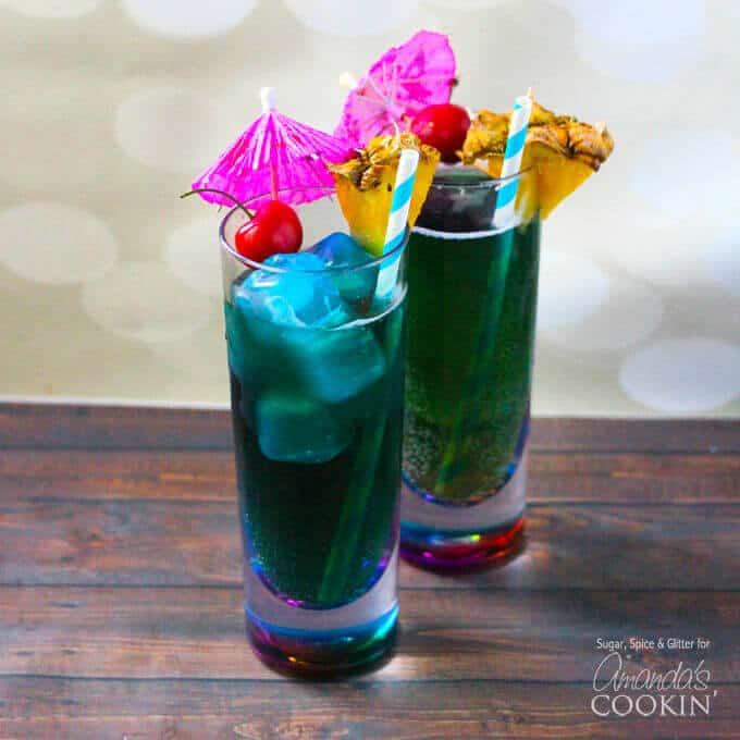 8 Blue Mermaid Cocktails