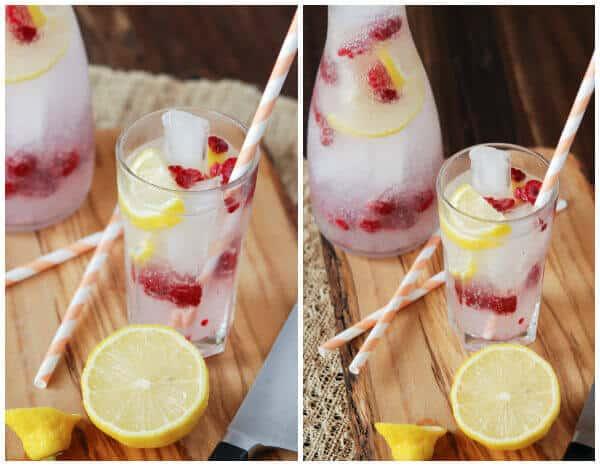 9 Skinny Dragonberry Rum Twist
