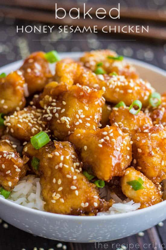 This Baked Honey Sesame Chicken recipe is the recipe that conquers all other recipes. It's easy to make and will have your family begging for a second serving.