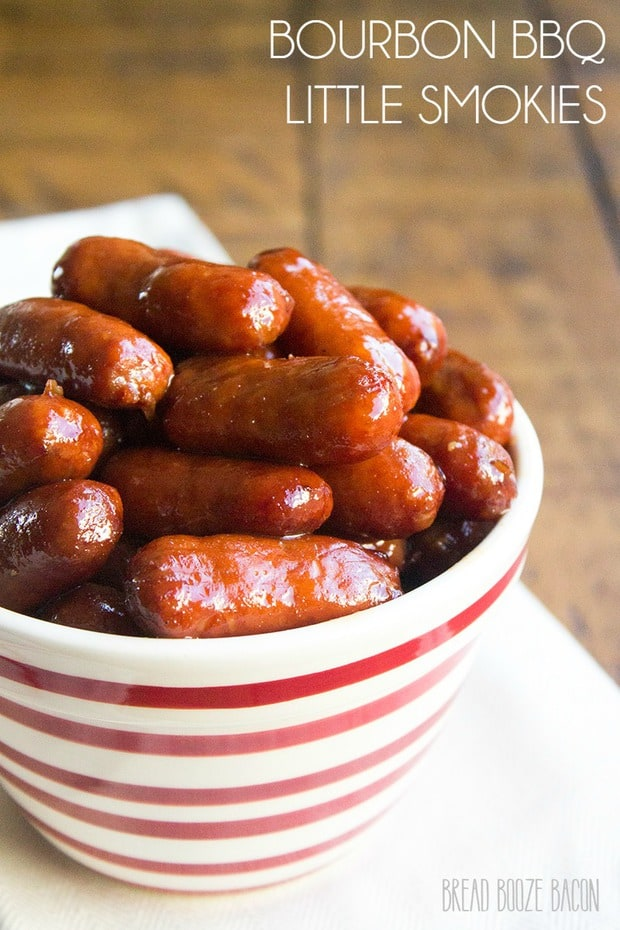 Bourbon BBQ Little Smokies--part of QUICK EASY WAYS TO MAKE LITTLE SMOKIES