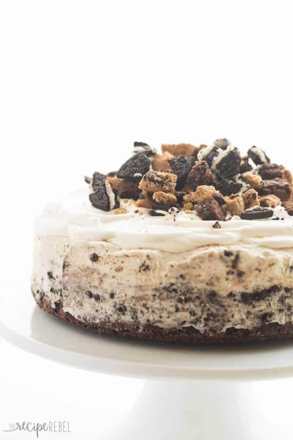 Chocolate Chip Cookie Oreo Brownie Ice Cream Cake