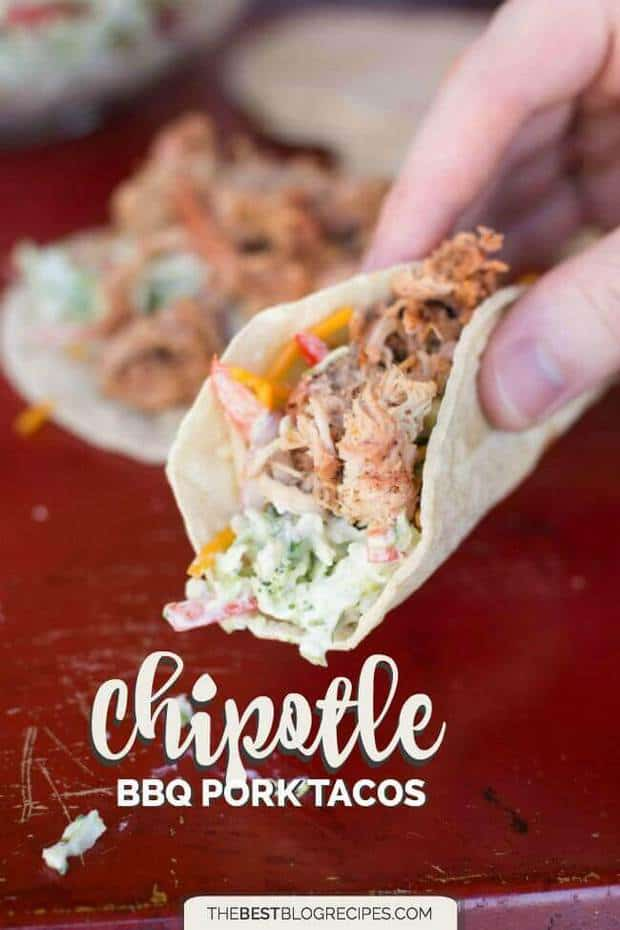 Chipotle BBQ Pork Tacos