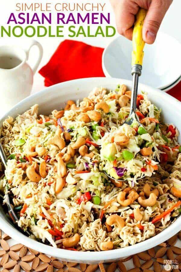 Simple Crunchy Asian Ramen Noodle Salad The Best Blog Recipe